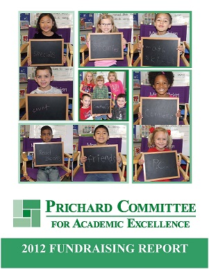 2012 Fundraising Report