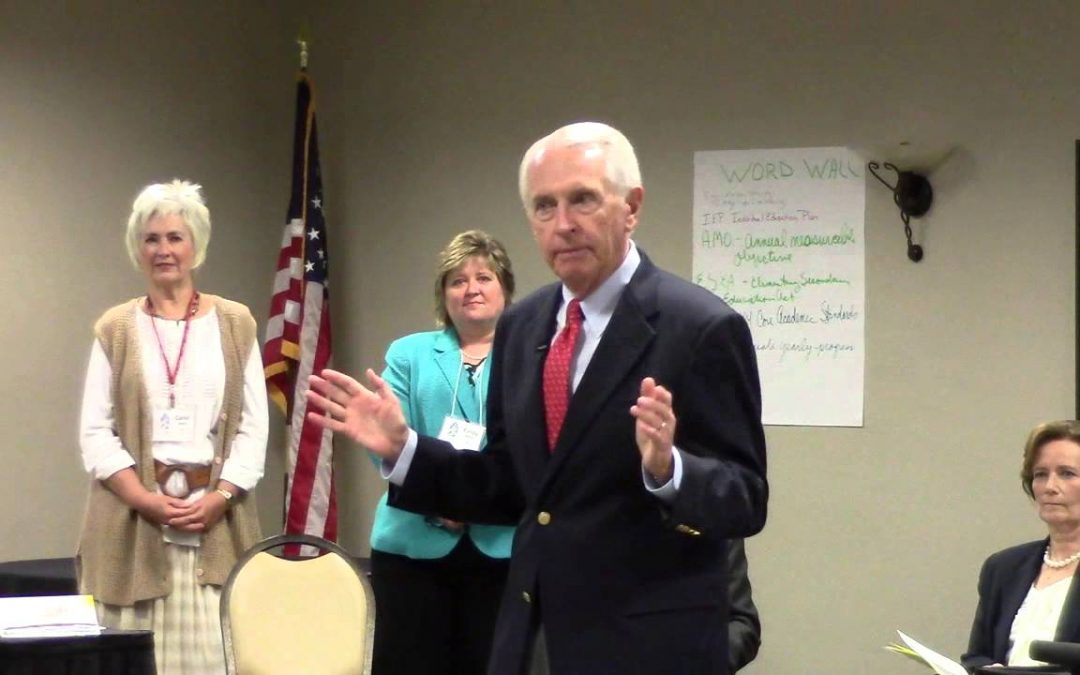 Mayor Fischer, JCPS Supt. Hargens & KY Gov Steve Beshear address GCIPL Class