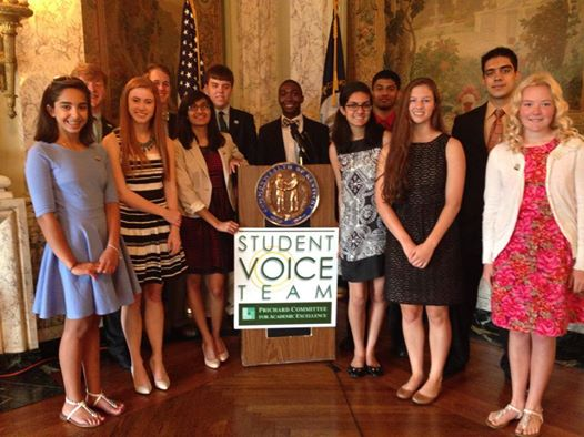 Student Voice Team Joins KEAT in Thanking Governor Beshear