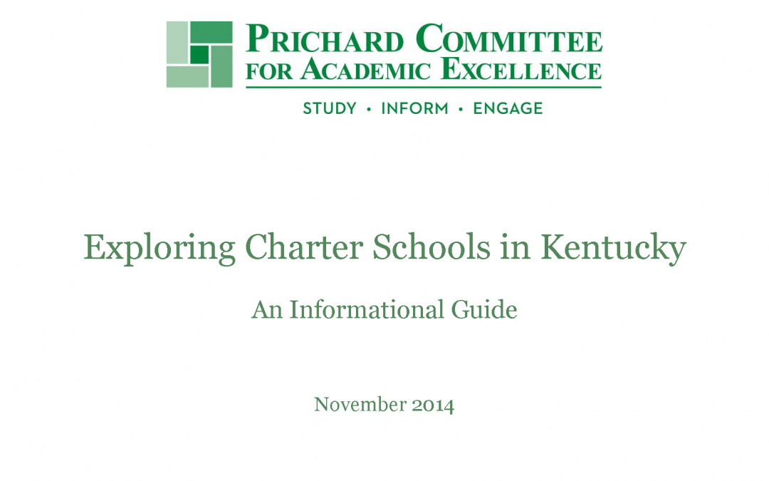 PERSPECTIVES WINTER 2016 | Prichard Report Highlights Charter  School Fundamentals
