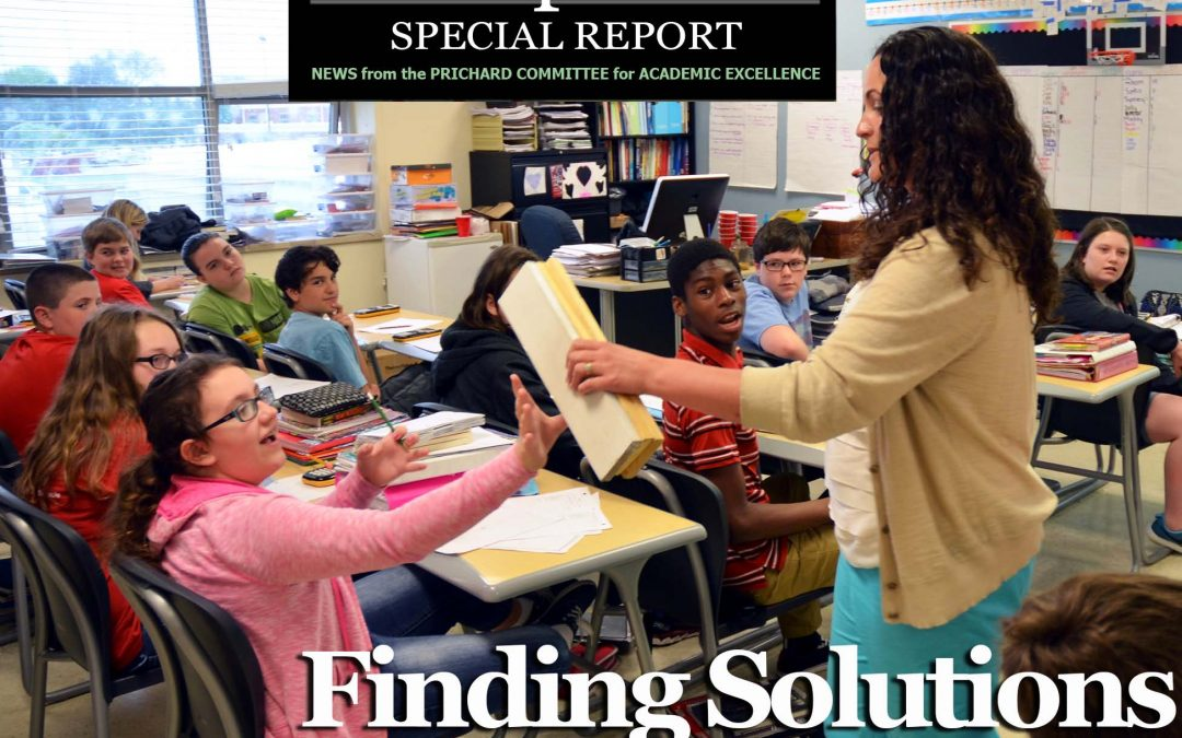 Finding Solutions: Standards Push Students Toward Real-Life Problems