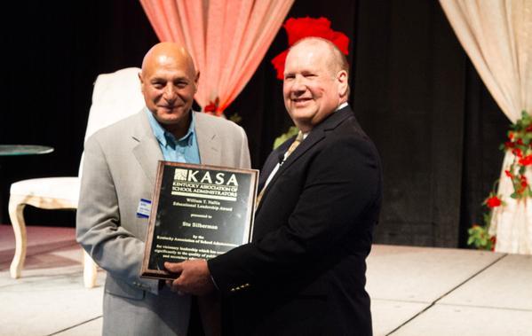 KASA awards Silberman & Bathon with William T. Nallia Award