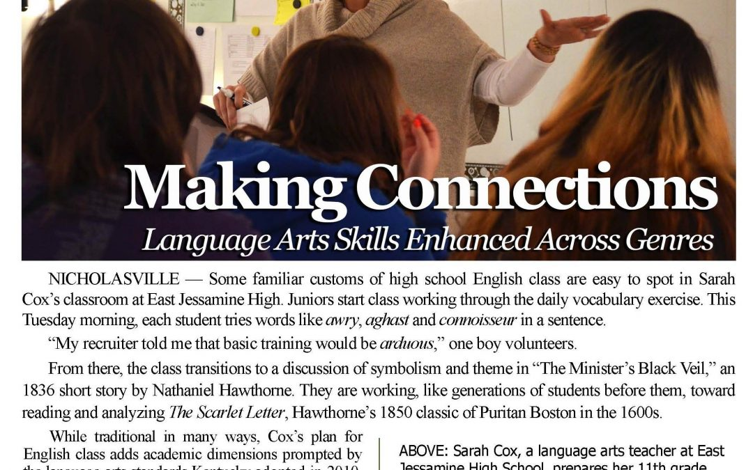 SPECIAL REPORT | Making Connections: Language Art Skills Enhanced Across Genres