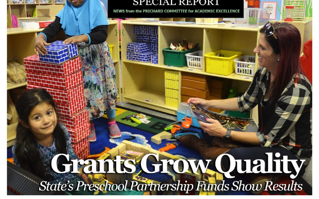 PERSPECTIVES SPECIAL REPORT | Preschool Partnership Grants Boosting Community Collaboration for Quality Early Childhood Education