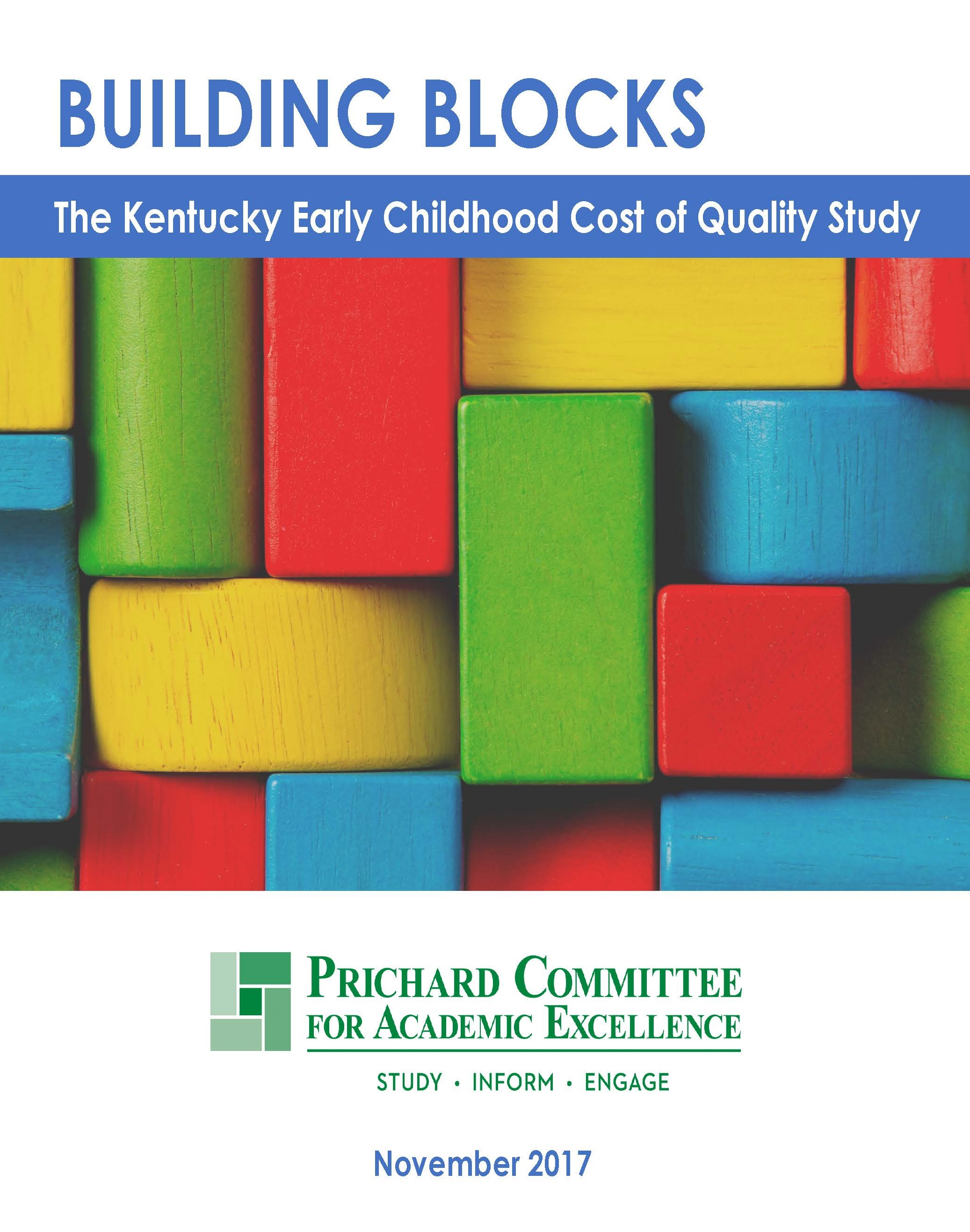 Study on Costs of Quality for Early Childhood Education Released