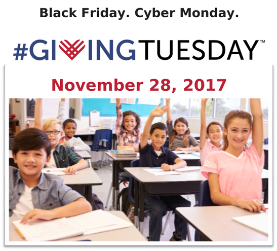 Prichard Committee Participates in #GivingTuesday | November 28