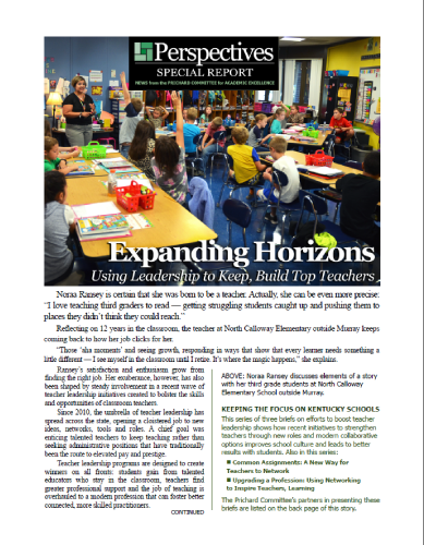 PERSPECTIVES SPECIAL REPORT | Expanding Horizons